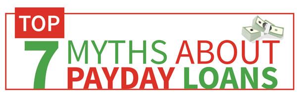 Payday loan myths