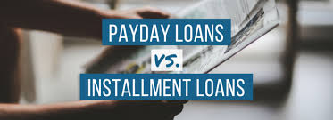 payday loan vs installment loan