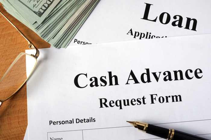 Cash advance loan early